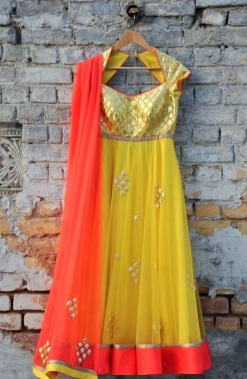 Beautiful Anarkali by Amrita Thakur https://www.facebook.com/pages/Amrita-Thakur/112558018840657 via CitiGirlScene