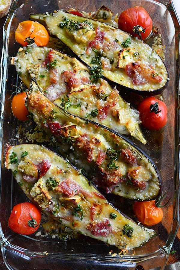 詰めてトースターで焼くだけ。パルミジャーノとハムのナスボート by 青山清美(金魚) | レシピサイト「Nadia | ナディア」プロの料理を無料で検索