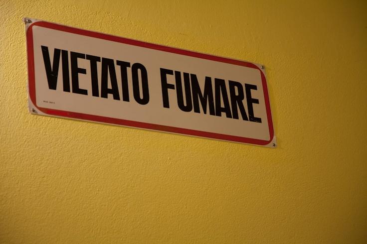 Don't #smoke - Vietato fumare #sigarette
