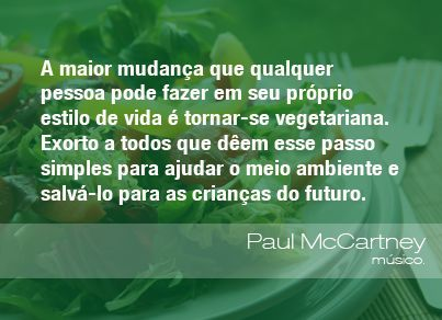Frases Do Meio Ambiente Think Green Environment Vegan