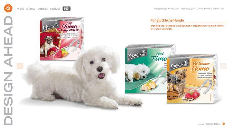 Packaging Design Nassfutter Hund