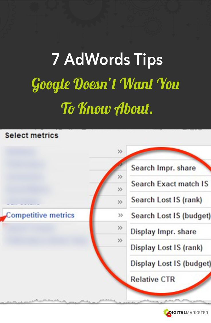 7 AdWords Tips Google DOESN'T Want You To Know About   Digitalmarketer.com