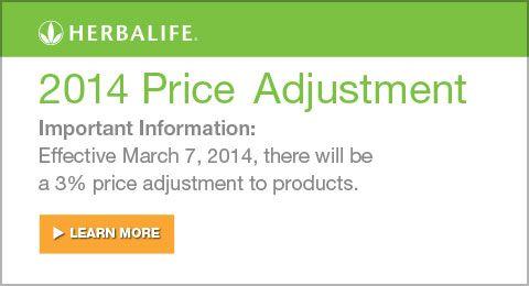 Herbalife Price Increase
