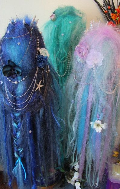 GhouliaPeculiar/ Where do I find these wigs?Mermaid perfect!