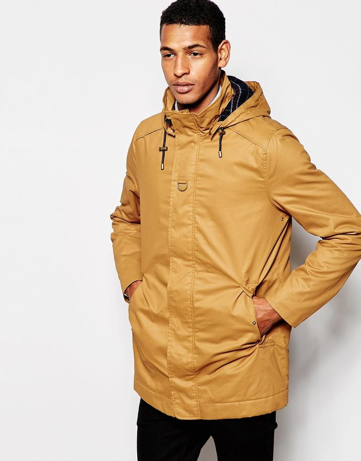 Image 1 ofSelected Homme Coat with Check Lining