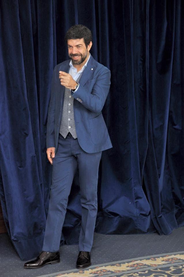 """Pierfrancesco Favino in #LBM1911 at the press conference for the movie """"Le Confessioni"""""""