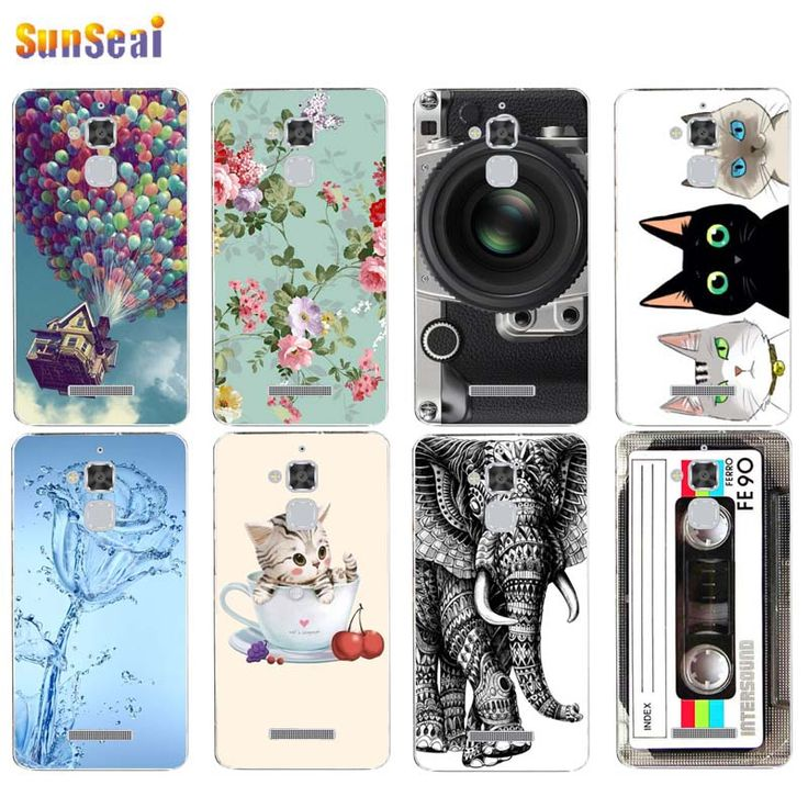 For Asus ZenFone 3 Max ZC520TL Case Cover Camera Flowers Balloon Tape Owl Elephant Soft Silicone TPU Cover Case Capa Coque Funda