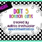 Here are rotation station cards for your Daily 5 Management Board.Don't forget to check out my other Daily 5 items.Melissawww.mrsfreshwater...