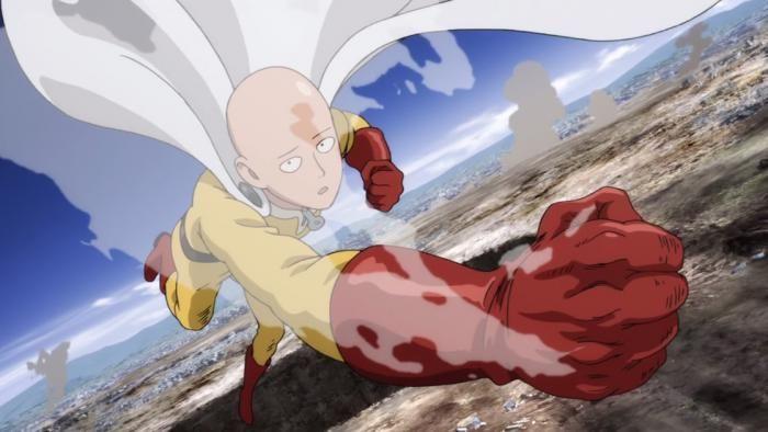 Saitama Punch - One Punch Man