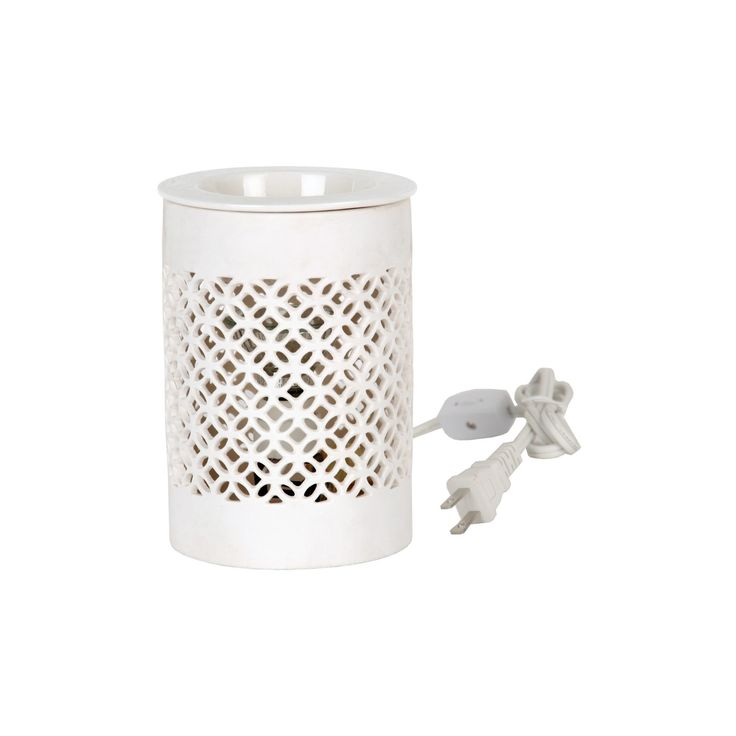Electric Wax Melt Warmer White - Home Scents by Chesapeake Bay Candle