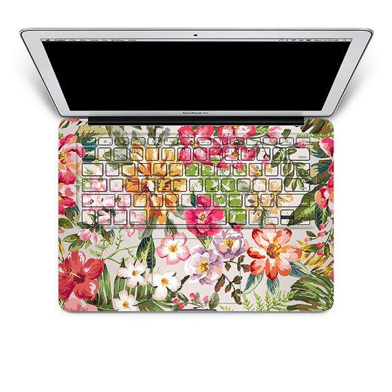 macbook keyboard decal sticker macbook air decals por MixedDecal