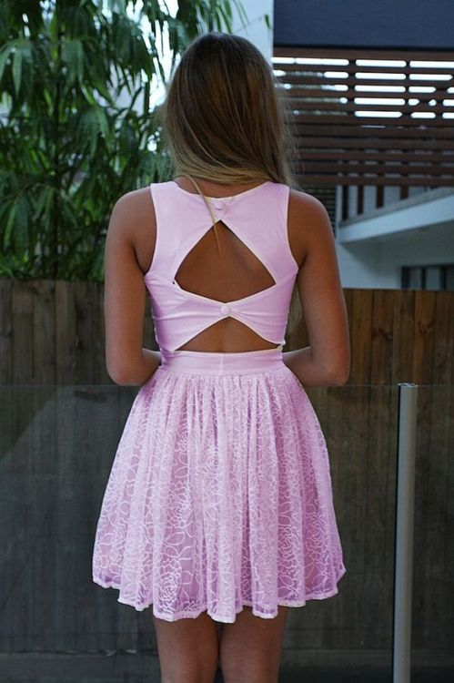 love the back: Cutouts, Summer Dresses, Fashion, Style, White Lace, White Dresses, Cut Outs, Open Back