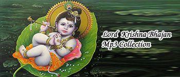 Hindi Lord Krishna Bhajan Devotional Mp3 Songs Collection