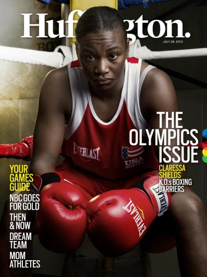Congratulations to Claressa Shields for winning the first U.S. women's boxing GOLD in Olympic history. Read her interview with Huffington here: http://huff.to/OnUG1V #sports #boxing