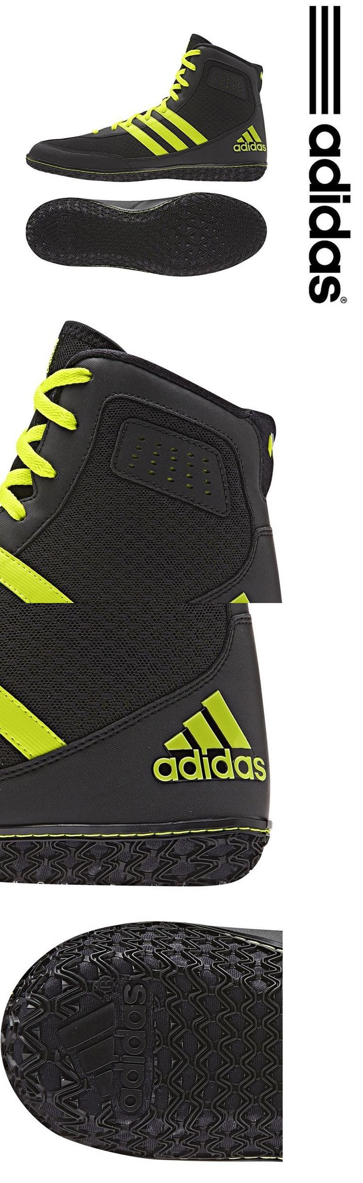 Accessories 36306: Adidas Mat Wizzard Iii Wrestling Shoes (Boots) Ringerschuhe Chaussures De Lutte BUY IT NOW ONLY: $71.45