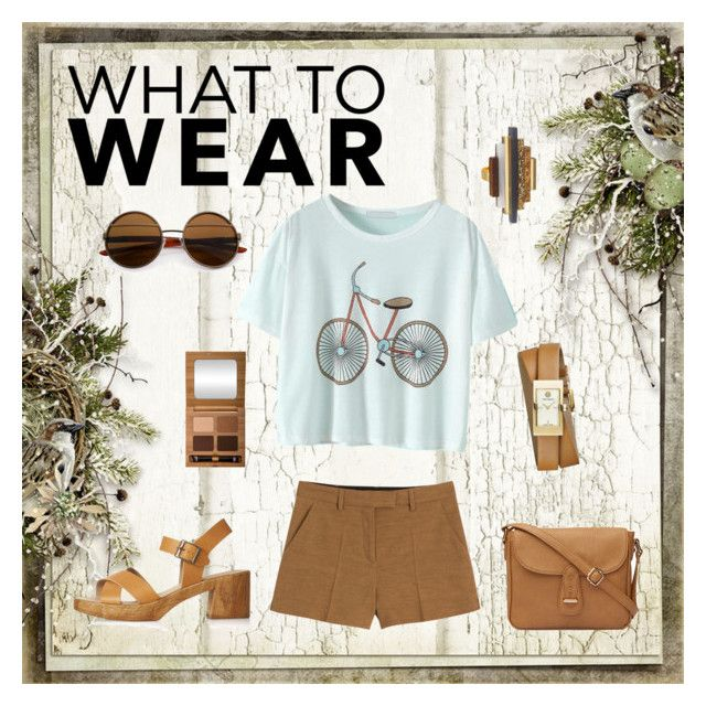 """Bicycle"" by thestrawberrytales on Polyvore featuring Emilio Pucci, Topshop, Tory Burch and Antonym"