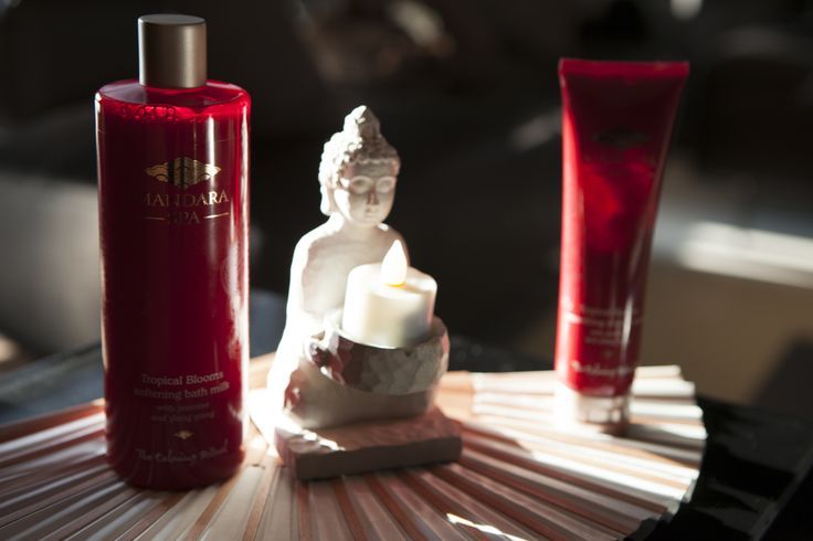 Mandara Spa's lotions and potions on offer