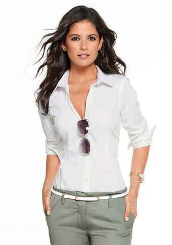 Košilová halenka #ModinoCZ #white #whitefashion #trendy #summerfashion #style #bila #moda #whitesummer