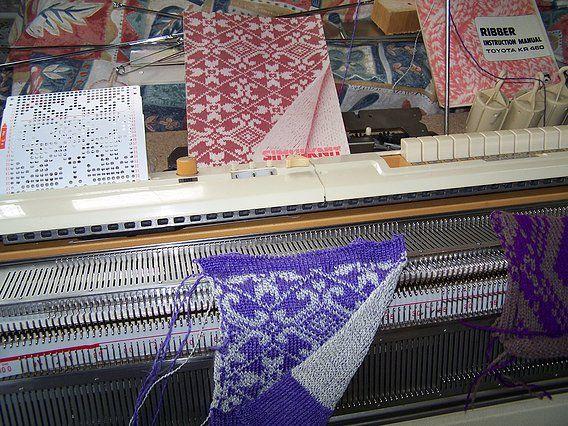 Toyota 787 Punchcard Knitting Machine