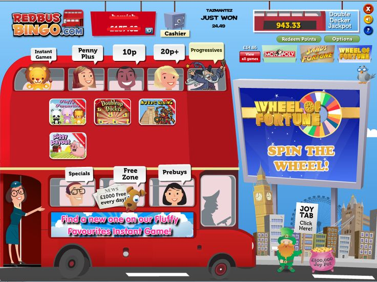 Red Bus Bingo Scratch To Win! Deposit £5 And Scratch The Red Bus Bingo Scratch Card and win up to £2,000  Every Card Has A Guaranteed Win, Question Is How Much? The Only Way To Find Out Is To Scratch Away! There Is Also £1,000 In Daily Free Bingo Games To Play! http://www.initto-winit.com/bingo/redbus-bingo/