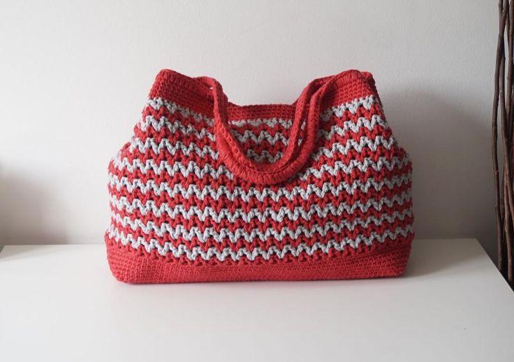 (4) Name: 'Crocheting : Seamless Crochet Bag