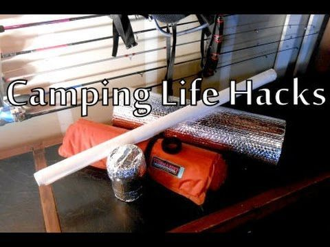 3 Camping Life Hacks using products not primarily intended for camping. We will be looking at Tyvek, Reflectix and Double Sided Velcro and their various uses...