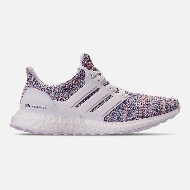 mi Adidas Ultra Boost White Rainbow, Men's Fashion