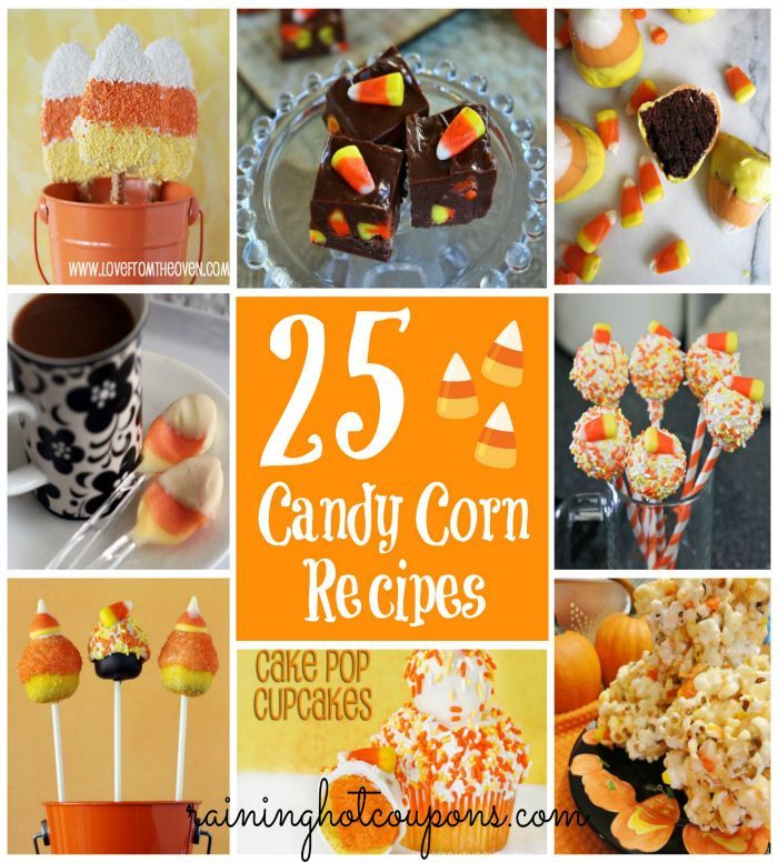 25+ Candy Corn Recipes for Halloween ~  >Candy Corn Drink >Candy Corn…