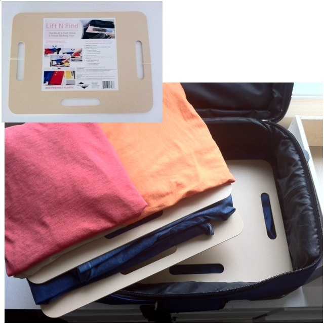 Frequent Flyers will love this to easily unpack and pack keeping clothes NEAT and FLAT!