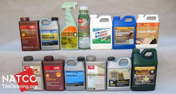 We review the most popular consumer and professional grade sealers to help you choose the best grout sealer.