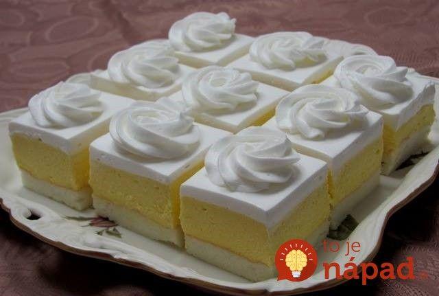 Výborný koláčik na leto, lepší tip na garden party alebo letnú oslavu nepoznám. Je veľmi svieži a lahodný, vonia po citróne. :-)