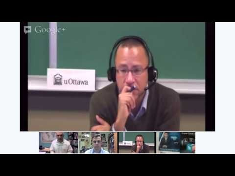 I hosted a live video chat on the U.S. presidential election featuring the University of Ottawa's Carlo Dade and the University of Toronto's Mohammad Fadel. Both had interesting very interesting things to say, and I had an awkward moment around the 43 minute mark.