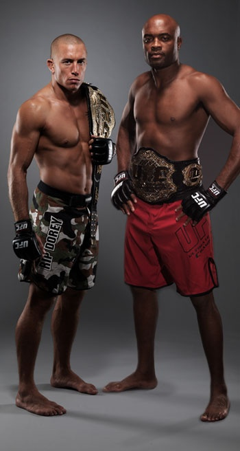 """Anderson Silva vs Georges """" RUSH"""" ST Pierre Feature Trailer. I don't know if GSP would be able to beat him. Jon Jones vs Anderson Silva would be better."""