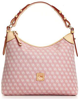 Dooney & Bourke Signature Hobo - Dooney & Bourke - Handbags & Accessories - Macy's