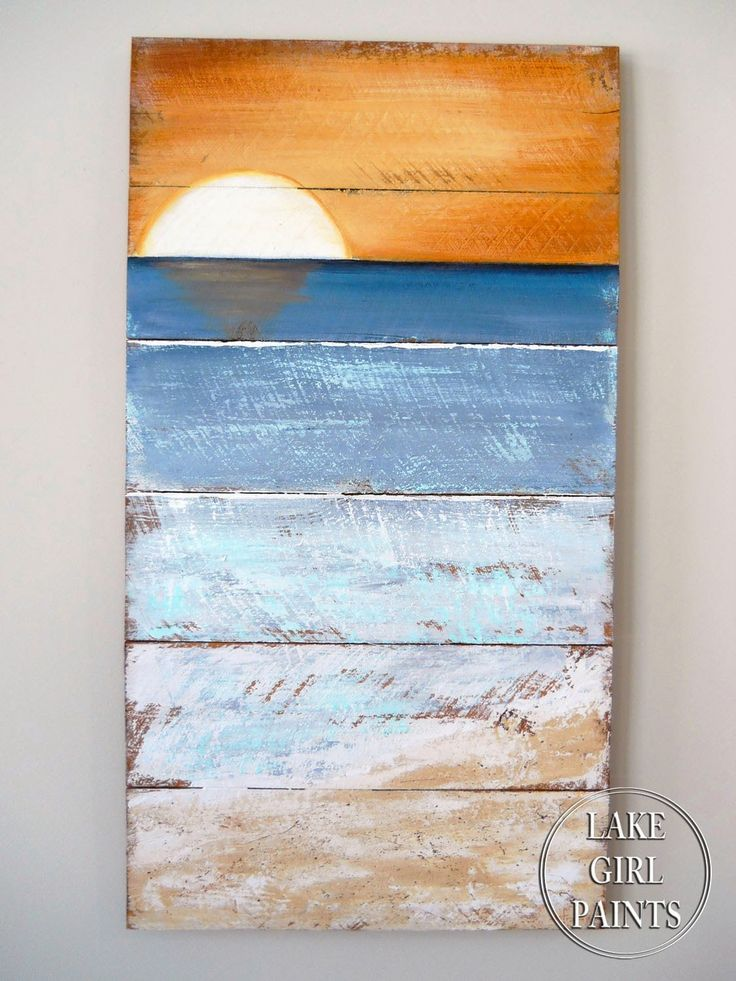 Lake Girl Paints: How to Paint Beach Art
