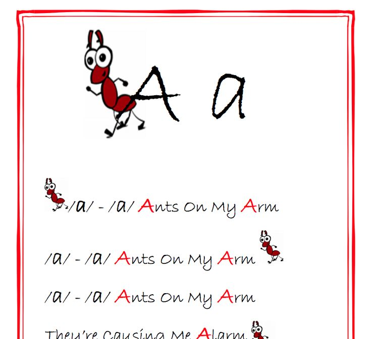 Learning the Alphabet throughsong and dance.