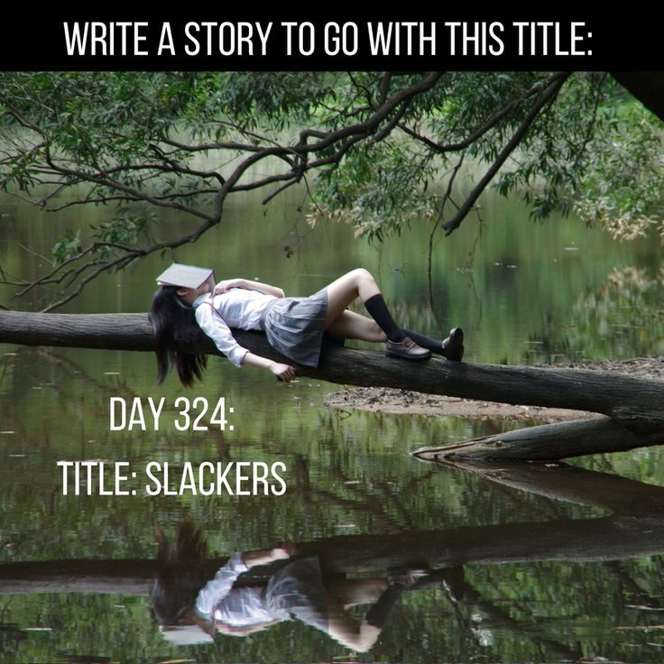 """Day 324 of 365 Days of Writing Prompts: Write a story to go with the title """"Slackers"""". Shannon: Trash, scum, loser I've heard them all, and that's just from the teachers. I …"""