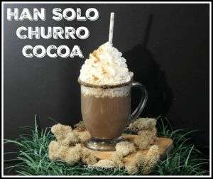 Some links in this post may or may not be affiliate links. If you click on a link I may earn a commission which supports this site.In celebration of record breaking numbers during opening weekend I bring you: Han Solo Churro Cocoa!!! PrintHan Solo Cocoa RecipePrep 5 minsCook 10 minsTotal 15 minsAuthor My Crafty LifeYield...Read More »