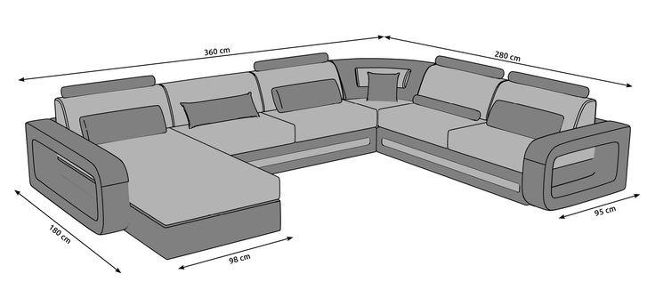 Výsledek obrázku pro rozměry sedačka do u