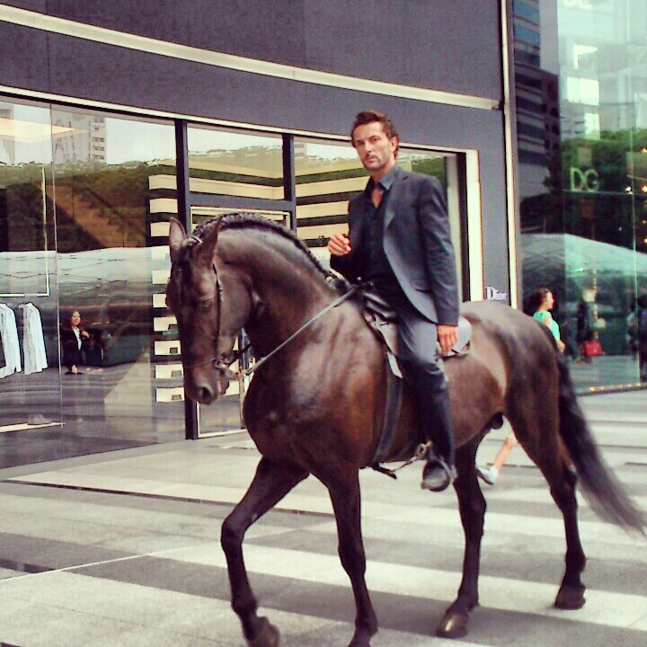 [For Sg Arts Fest] Handsome centaur. Period.