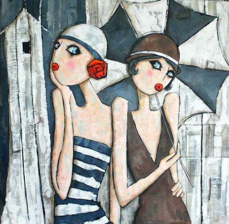 Les 25 meilleures id es concernant peintures sur pinterest peinture d butant peinture - Tuto peinture abstraite contemporaine ...