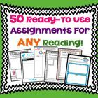 Gone are the days of boring book reports and reading responses!  This multi-faceted  resource provides fun ready-to-use assignments that will work ...