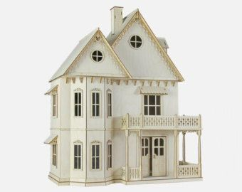 Victorian Style House by VictorianDollhouse on Etsy