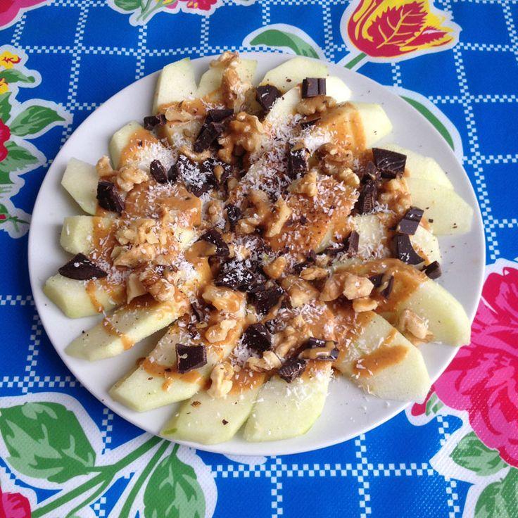 Apple nachos – Wat eet je dan wel?