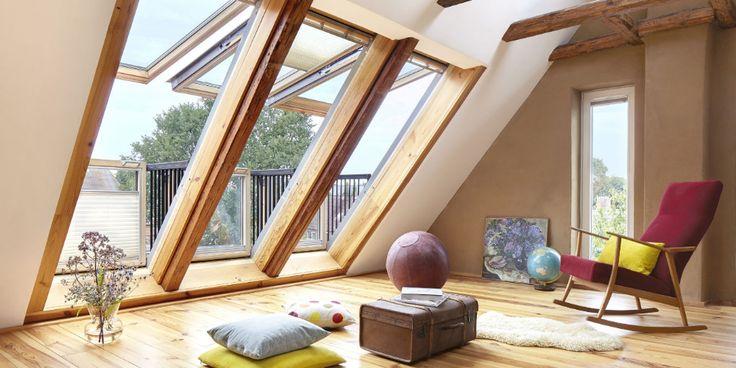 Dachfenster Neuheiten | Dachgeschoss, Dachschräge fenster ...