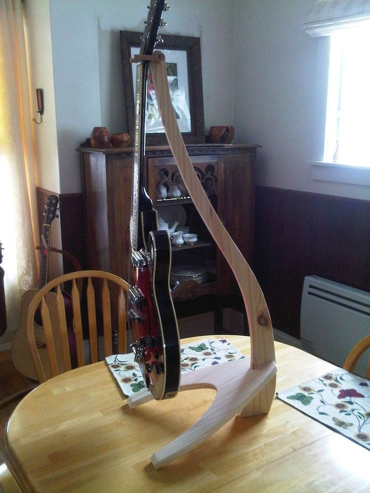Guitar Stand Deux Woodworking Projects Woodworking
