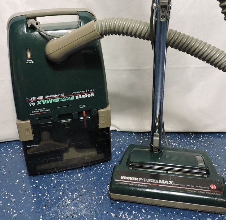 Hoover S3609 PowerMax Supreme 850 Canister Vacuum Cleaner Cleaned!! Powerful! #Hoover