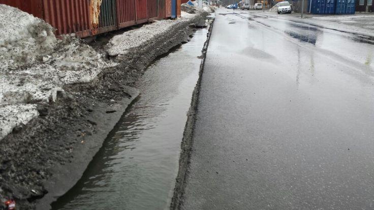 Dansker-hullerne er nu fyldt op med vand. April16
