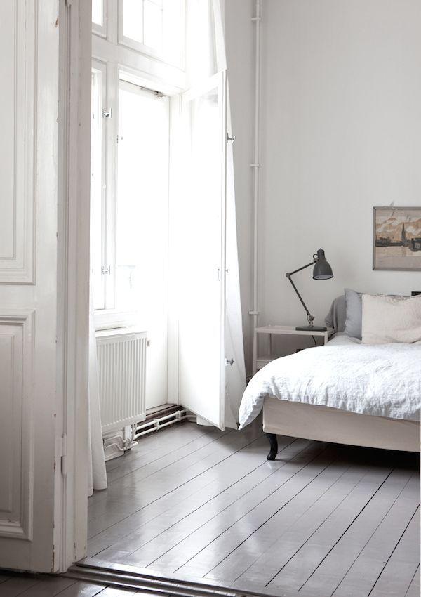 light bedroom filled with natural light
