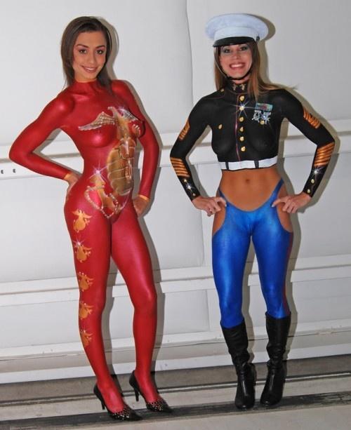 Marine corps girls nude something is